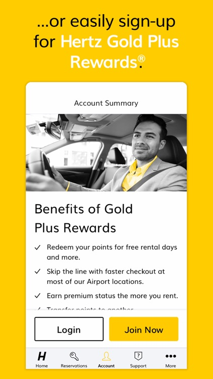 Hertz Car Rental screenshot-7