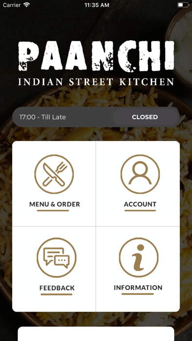 Paanchi Indian Street Kitchen screenshot one