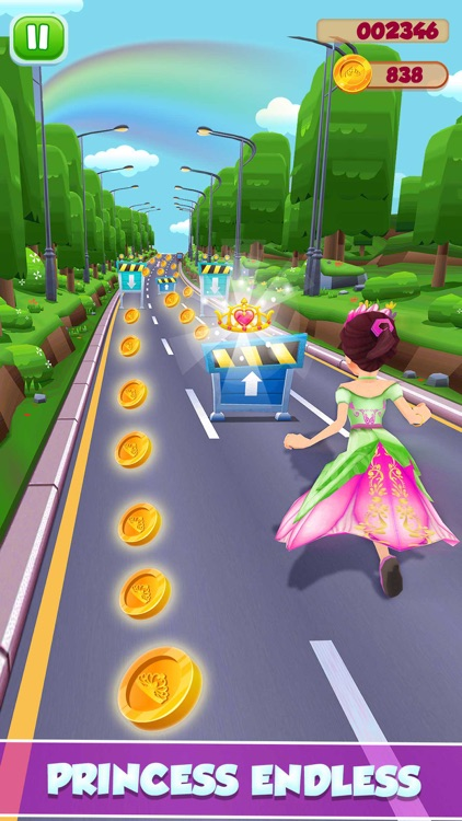 Princess Runner Dash Game screenshot-3