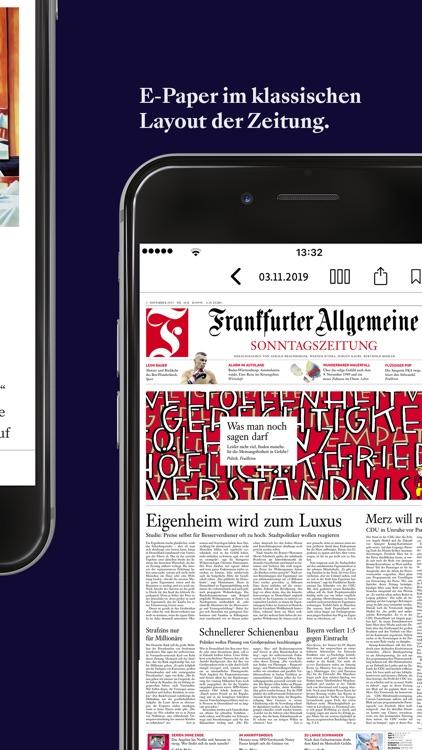 F.A.Z. Kiosk - App zur Zeitung screenshot-3