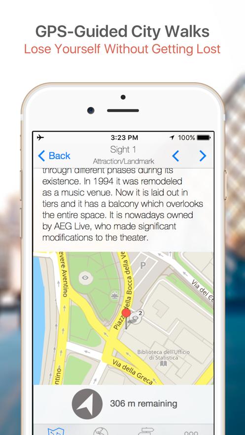 Florence Map & Walks (F) App 截图