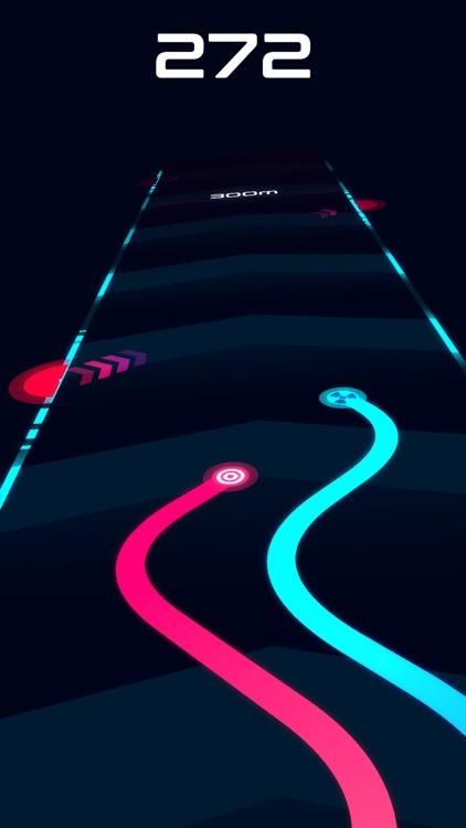 Wavy Lines: Battle Racing Game screenshot-0