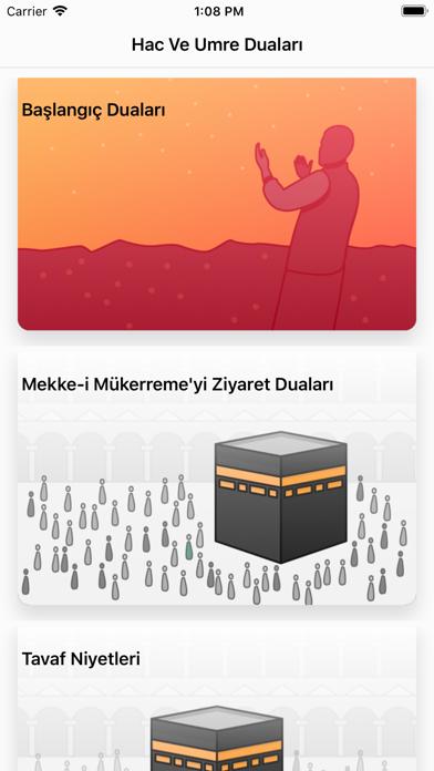 Hac Umre Duaları screenshot one