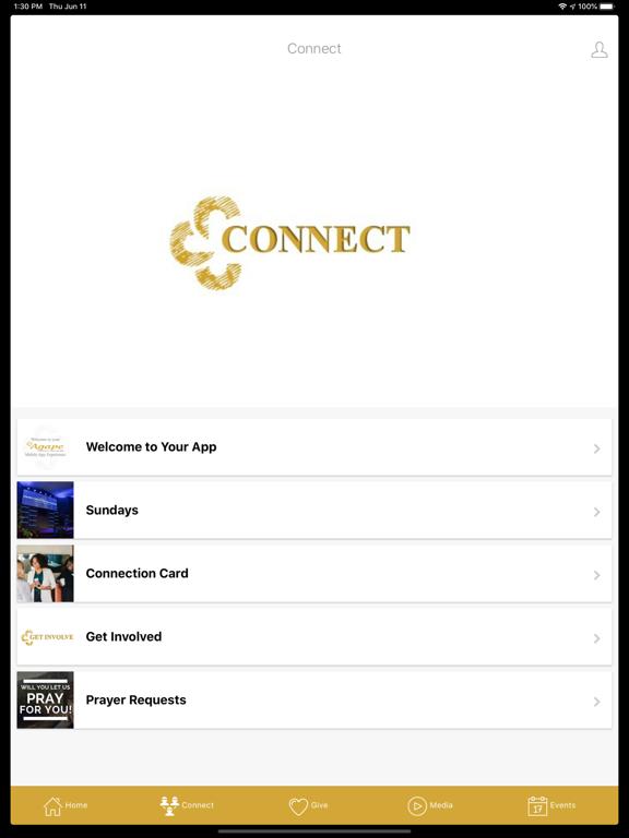Agape Christian Fellowship screenshot 6