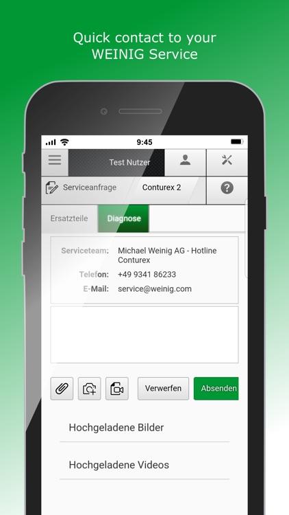 WEINIG App Suite 20 screenshot-3