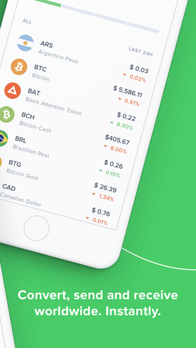 Uphold: buy and sell Bitcoin