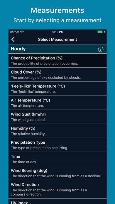 WeatherRules screenshot two
