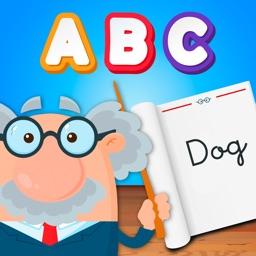 Alphabet Coloring Book Game