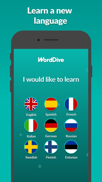 WordDive: Learn languages