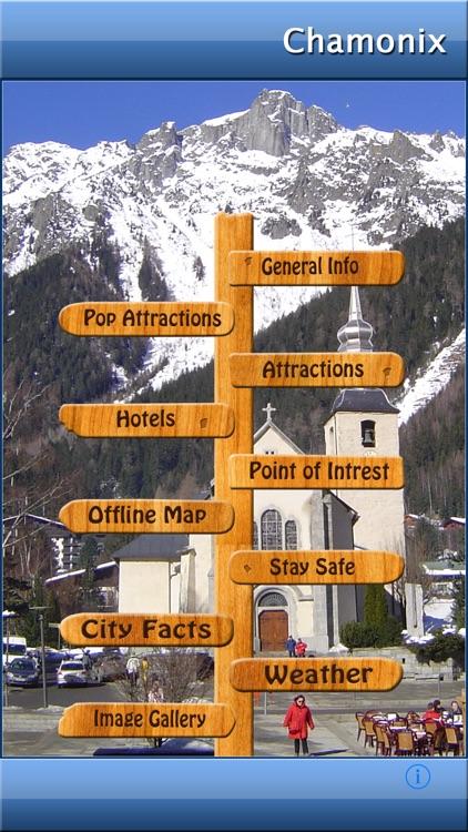 Chamonix-Mont-Blanc Map Guide
