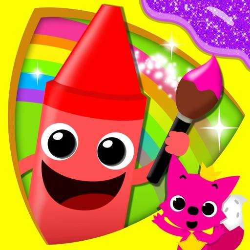 こどものぬりえ 子供向けの塗り絵(お姫様、動物、恐竜)知育アプリ