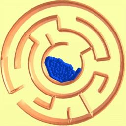 Balls Labyrinth Rotate