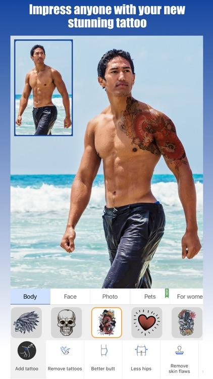 Retouch Men: Abs & Body Editor screenshot-5