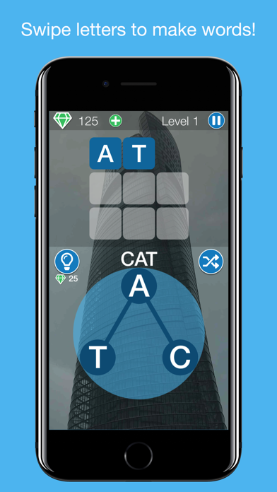 Snappy Word - Word Puzzle Game screenshot two