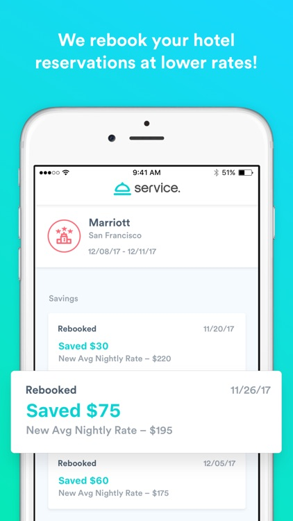 Service: travel and save money