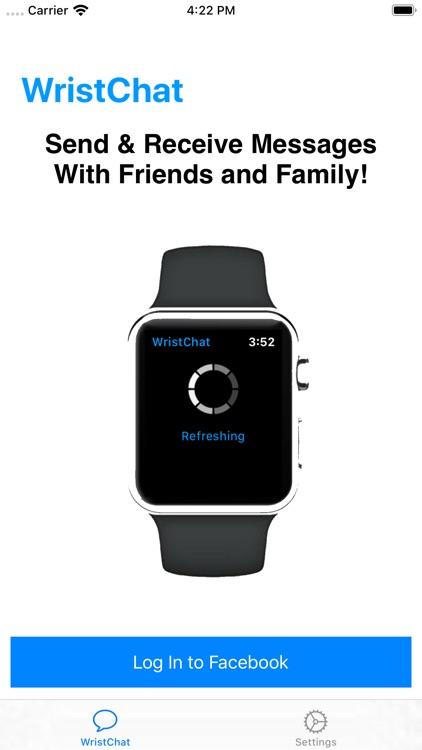 WristChat for Facebook screenshot-4