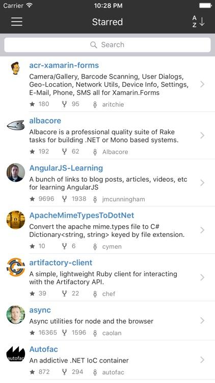 CodeHub - A Client for GitHub