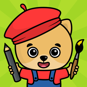 Drawing for kids: doodle games Education app