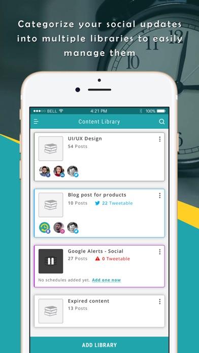 RecurPost - Social Media App screenshot one