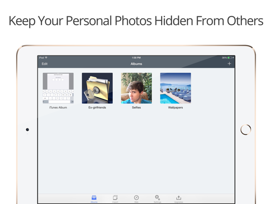 Private Photo Vault - Safe Photo+Video with Folder Manager screenshot