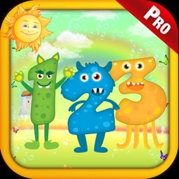 Monster Math Counting Game Pro