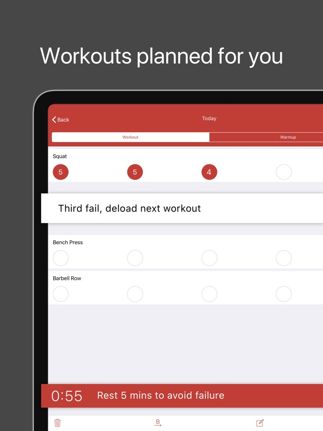 StrongLifts 5x5 Weight Lifting on the App Store