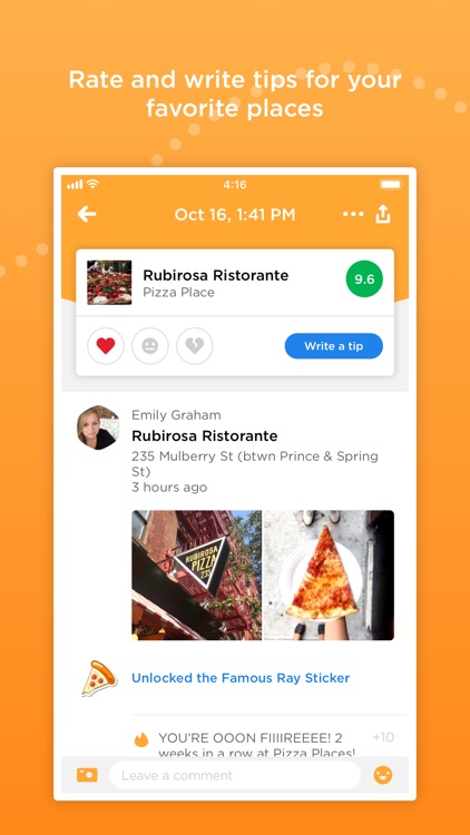 Foursquare Swarm: Check-in App screenshot-1