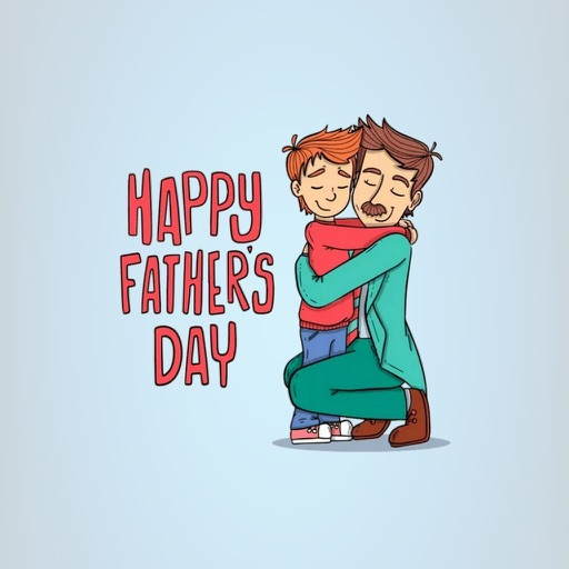 Fathers Day Stickers app logo