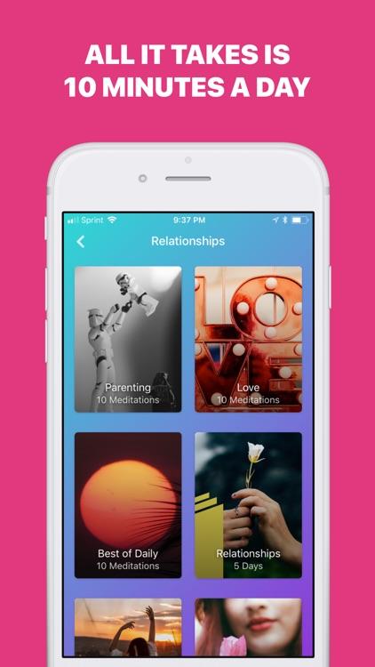 Welzen - Meditation app calm screenshot-4