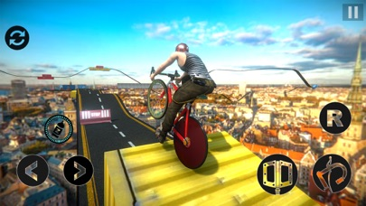 Impossible BMX Stunts Rider screenshot two