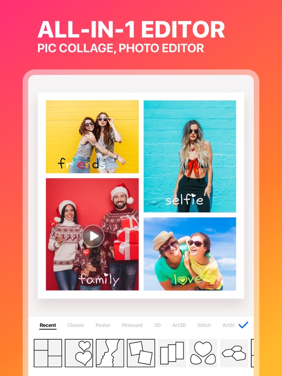 Collage Maker ◇-ipad-0
