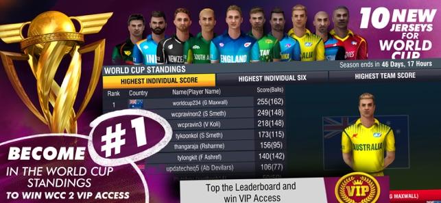 World Cricket Championship 2 on the App Store