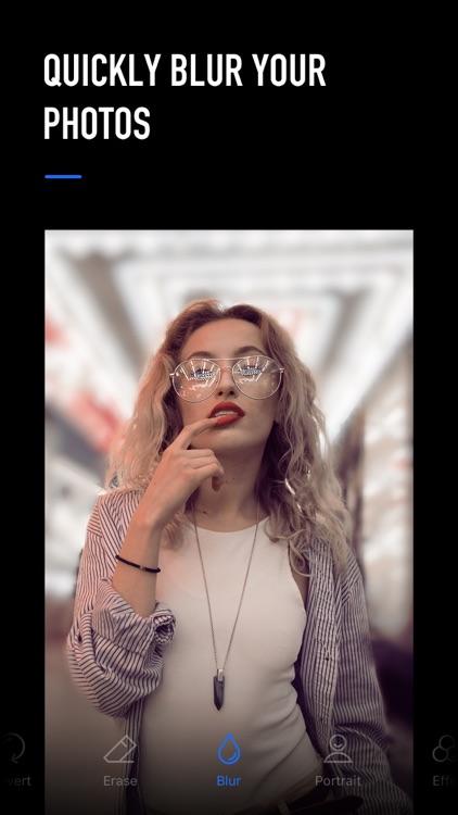 Blur Photo Editor Background