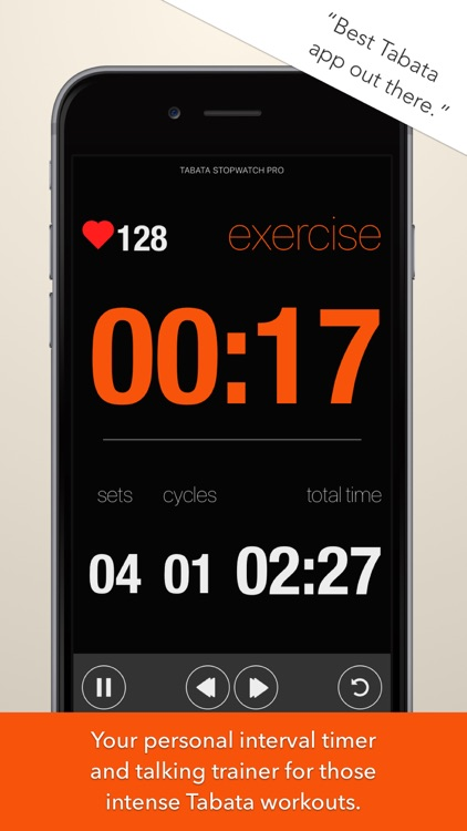 Tabata Stopwatch Pro screenshot-0
