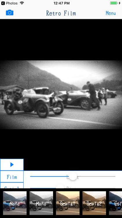 Retro Film - 8mm Video Maker screenshot-5
