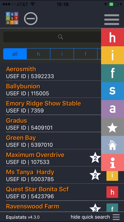 Equistats screenshot-4