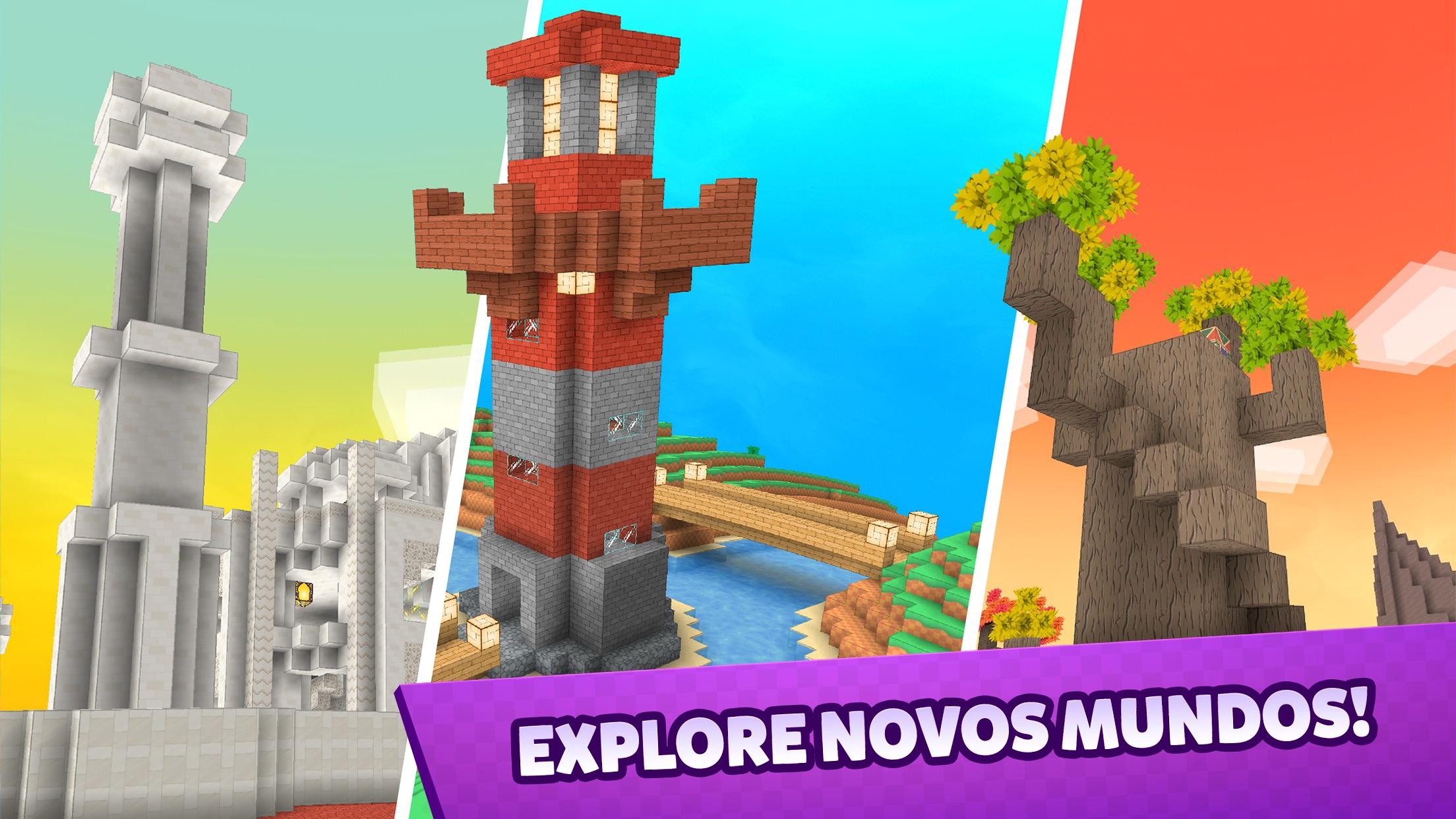 Screenshot do app Crafty Lands