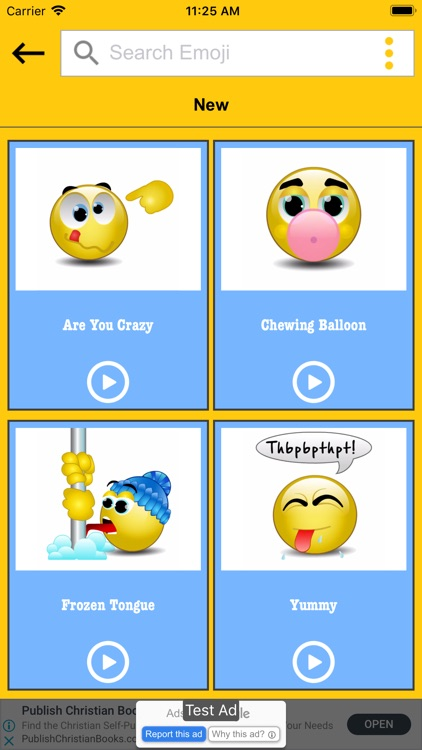 Talking Smileys Emoji – Funny screenshot-3