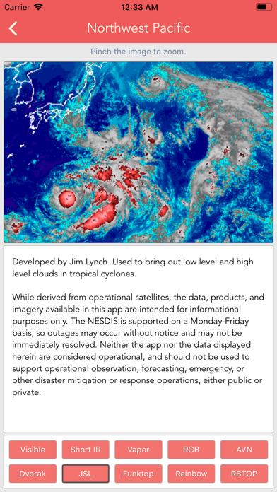 Typhoon Tracker (台風 태풍 台风) Screenshot