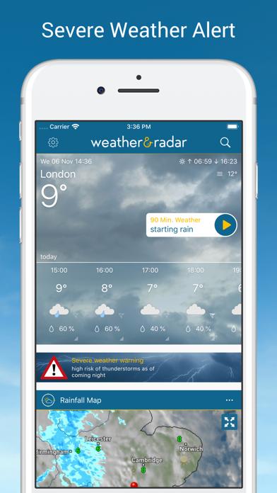 Weather & Radar på PC