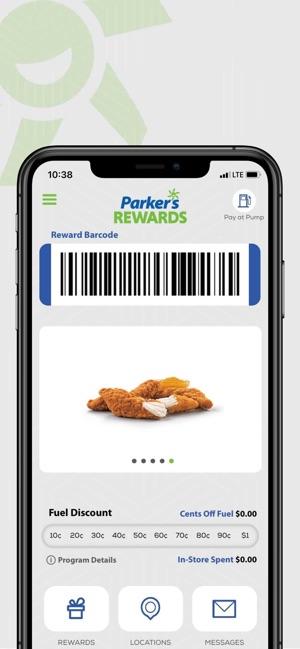 Parker S Rewards On The App Store