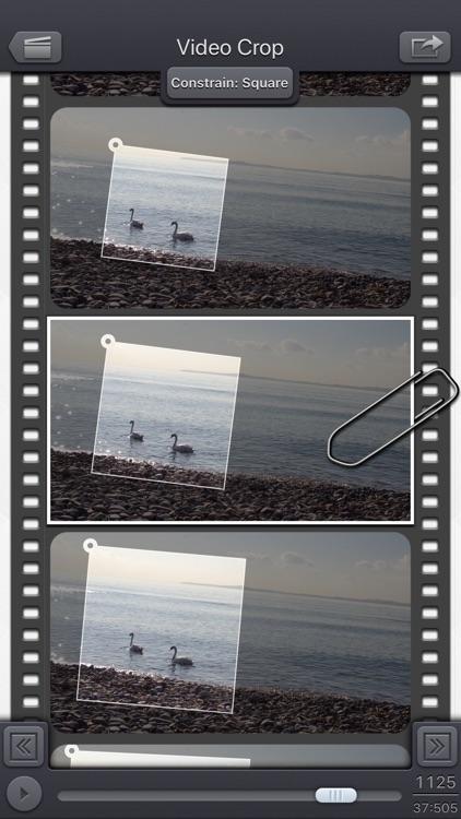 Video Crop & Zoom - HD screenshot-0