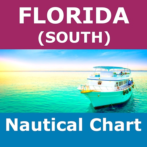 FLORIDA (South) - MARINE MAP