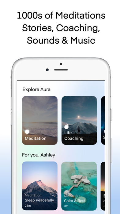 Aura: Meditation & Sleep Screenshot