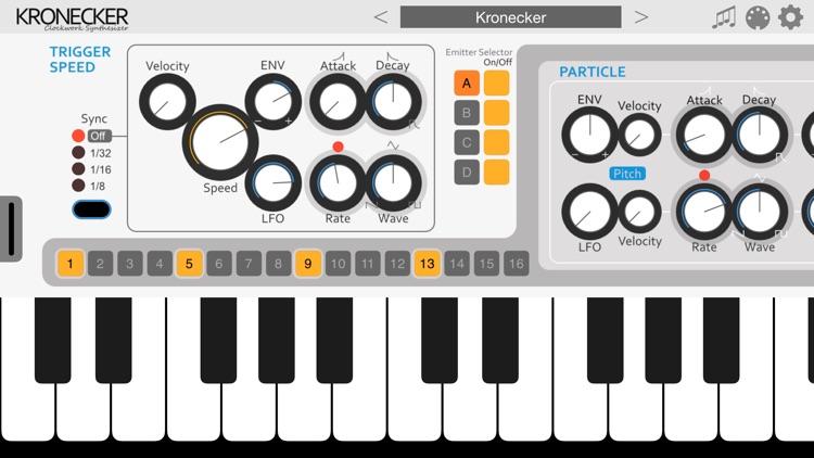 Kronecker Synthesizer screenshot-0