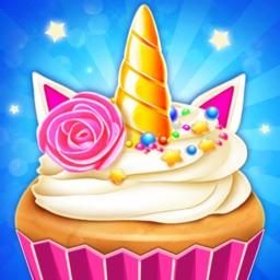 Unicorn Cupcake Bakery Game