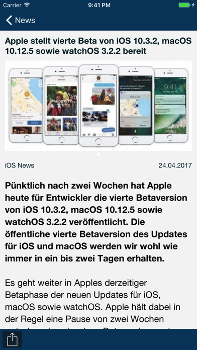 Screenshot #1 pour AppTicker News