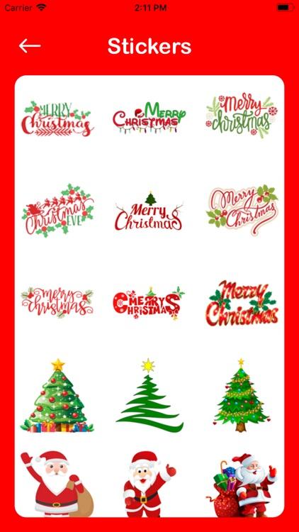 Christmas Photo Editor Collage screenshot-5
