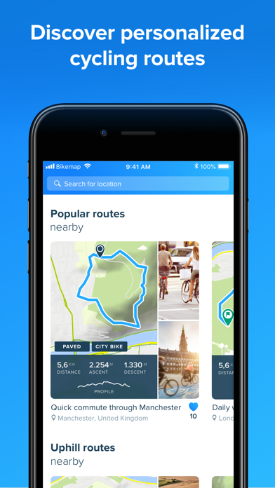 Bikemap Cycling Map Gps For Android Download Free Latest