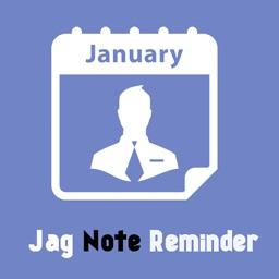Jag Note Reminder
